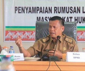 Bupati Kabupaten Lebong Menetapkan dan Mengakui 12 Kesatuan Masyarakat Hukum Adat Rejang